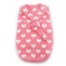 PuppyPAWer Heart Hoodie Dog Sweater by Dogo - Pink