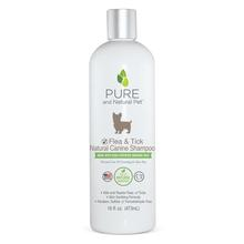 Pure and Natural Pet Flea & Tick Natural Dog Shampoo