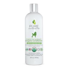 Pure and Natural Pet Fragrance-Free Hypoallergenic Organic Conditioner for Dogs