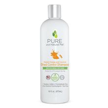 Pure and Natural Pet Shed Control Shampoo for Dogs - Sweet Orange and Coconut