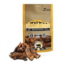PureBites Jerky Dog Treat - Bacon Style Pork