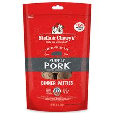Stella & Chewy's Purely Pork Dinner Patties Dog Treat - Freeze Dried