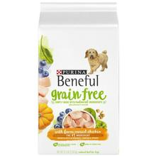 Purina Beneful Grain Free Dry Dog Food - Farm-Raised Chicken