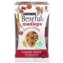 Purina Beneful Medleys Wet Dog Food - Tuscan Style