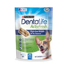 Purina Dentalife Activfresh Daily Oral Care Dog Supplements - Mini