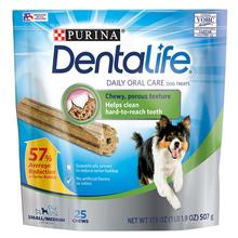 Purina Dentalife Daily Oral Care Dog Treats - Small/Medium