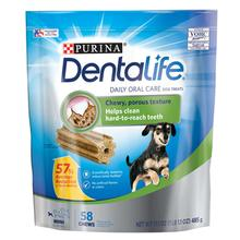 Purina Dentalife Daily Oral Care Dog Treats - Mini