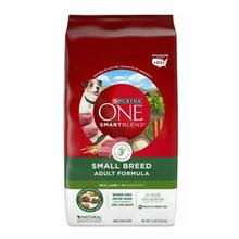 Purina One SmartBlend Small Breed Dog Food - Natural Lamb & Rice