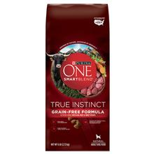 Purina ONE SmartBlend True Instinct Grain-Free Dog Food - Real Beef