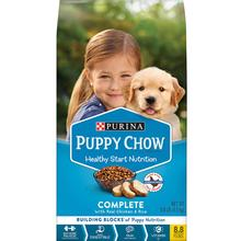 Purina Puppy Chow Complete with Chicken & Rice Dry Dog food