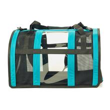 Push Pushi Puppy Shell Carry On Dog Carrier - Teal