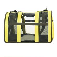 Push Pushi Puppy Shell Carry On Dog Carrier - Yellow