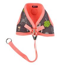 Puss Step-In Cat Harness by Catspia - Indian Pink