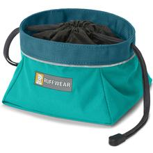 Quencher Cinch Top Dog Bowl by RuffWear - Meltwater Teal