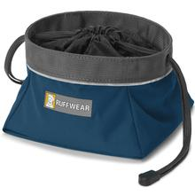Quencher Cinch Top Dog Bowl by RuffWear - Blue Moon