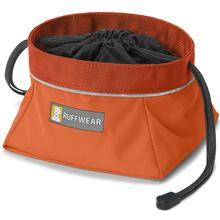Quencher Cinch Top Dog Bowl by RuffWear - Pumpkin Orange