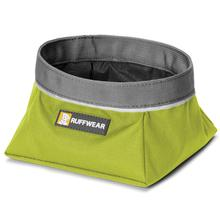 Quencher Travel Dog Bowl by RuffWear - Forest Green