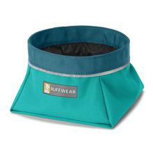 Quencher Travel Dog Bowl by RuffWear - Meltwater Teal