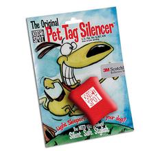 Quiet Spot Pet Tag Silencer - Red