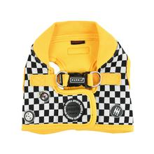 Racer Vest Dog Harness by Puppia - Yellow