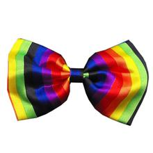 Rainbow Dog Bow Tie