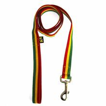 fabdog® Rasta Stripe Dog Leash