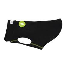 RC Pets Baseline Fleece Dog Pullover - Black and Lime