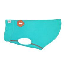 RC Pets Baseline Fleece Dog Pullover - Teal and Orange
