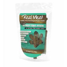 Real Meat Air Dried Dog Treat - Turkey Neckers