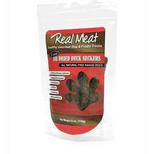 Real Meat Air Dried Dog Treat - Duck Neckers