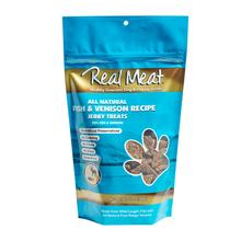 Real Meat Fish & Venison Bitz Jerky Dog Treats