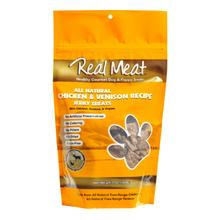 Real Meat Chicken & Venison Bitz Jerky Dog Treats