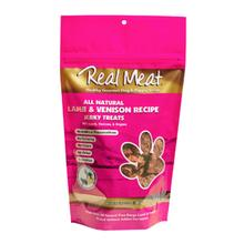 Real Meat Lamb & Venison Bitz Jerky Dog Treats