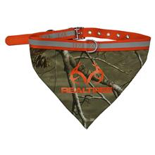 Real Tree Camouflage Dog Collar Bandana