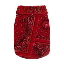 Red Bandana Dog Pullover