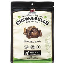 Redbarn Chew-A-Bulls Horned Toad Dental Dog Treats