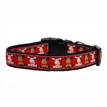 Reindeer Ribbon Dog Collar