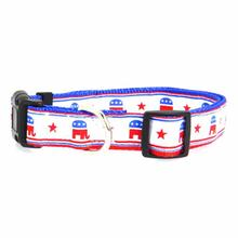 Republican Party Nylon Dog Collar