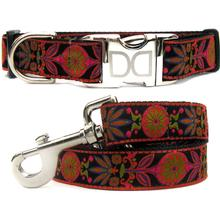 Venice Ink Dog Collar and Leash Set by Diva Dog
