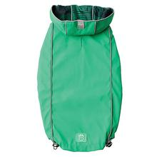 Reversible Elasto-Fit Dog Raincoat - Green