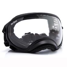 Rex Specs Dog Goggles - Black with Clear Lens