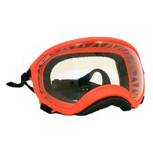 Rex Specs Dog Goggles - Orange with Clear Lens