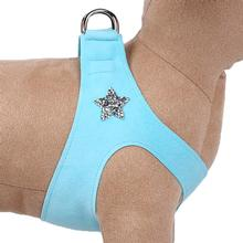 Rock Star Step-In Dog Harness by Susan Lanci - Tiffi Blue