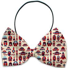 Rocket Man Dog Bow Tie