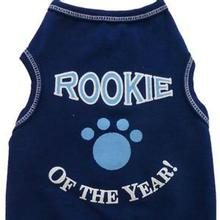 Rookie Of The Year Dog Tank - Navy