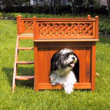 Merry Products Room with a View Outdoor Dog House