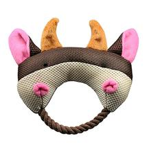Rope Heads Dog Toy by Hip Doggie - Bull