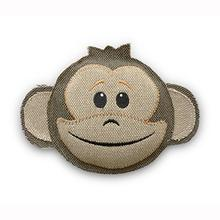 Thread Heads Dog Toy - Monkey