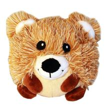 Roundimal Squeaky Dog Toy - Bear