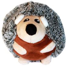 Roundimal Squeaky Dog Toy - Hedgehog